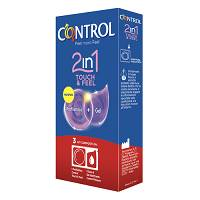 CONTROL 2IN1 TOUCH&FEEL+LUBE 3
