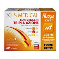 XLS MEDICAL MAX STRENGTH 120 CP. DISPOSITIVO MEDICO CE 0197
